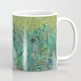 """Vincent Van Gogh """"View of Arles with Irises in the Foreground"""" Coffee Mug"""