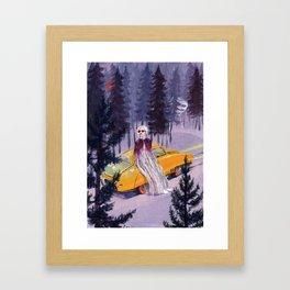 Pegaso Framed Art Print