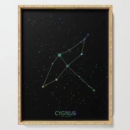 Cygnus 'The Swan' Constellation Serving Tray