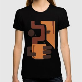 Coffee Abstract T-shirt