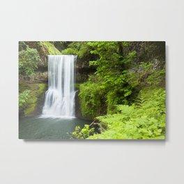 Lower South Falls, Silver Falls State Park, Oregon, USA Metal Print