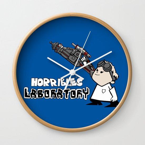 Horrible's Laboratory Wall Clock