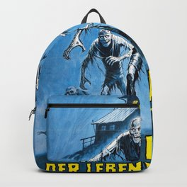 Don't Go in the House (1979), vintage horror movie poster Backpack