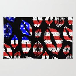 Kiss The Flag Rug