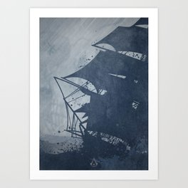 Assassin's Creed - Black Flag Art Print