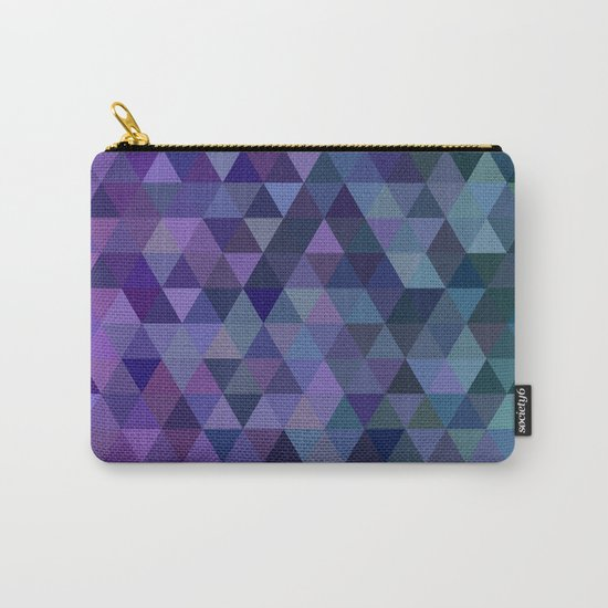 Triangle tiles Carry-All Pouch