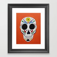 Sugar Skull #1  Framed Art Print
