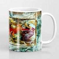 metallic Mugs featuring Metallic by Vargamari