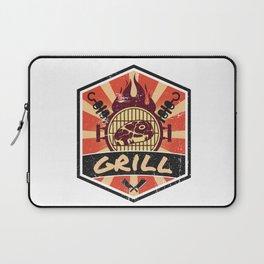 Barbecue BBQ Propaganda Laptop Sleeve
