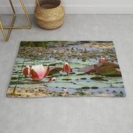 Water Lily. Rug