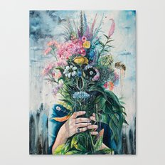 The Last Flowers Canvas Print