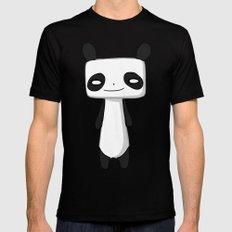 Panda 2 Mens Fitted Tee Black MEDIUM