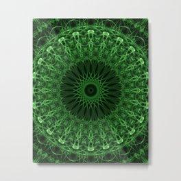 Forest mandala Metal Print