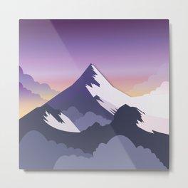 Night Mountains No. 50 Metal Print