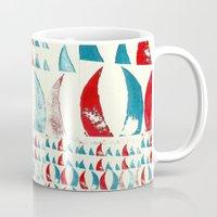 potato Mugs featuring Potato Tusks by Mary Naylor
