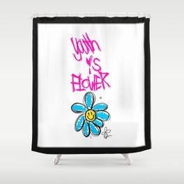 G-Dragon Youth-Flower V1 Shower Curtain