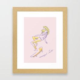 Chillboard Framed Art Print