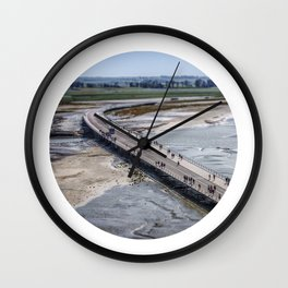 The Long Road... Wall Clock