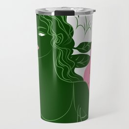 half lord of the fishes pose Travel Mug