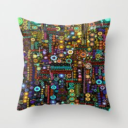 :: Chi-Town :: Throw Pillow