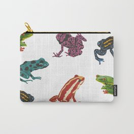 Frogs. Carry-All Pouch