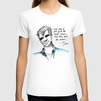 kerouac T-shirts featuring Ti Jean/ Jack Kerouac by Runk the Skunk