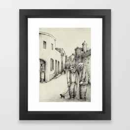Village Elders of Lija Framed Art Print