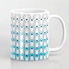 small gridlock duffle blue gradient Coffee Mug