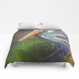 Mystic Pelican Comforters