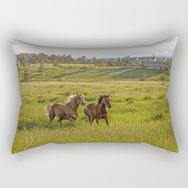 Summer Run Rectangular Pillow