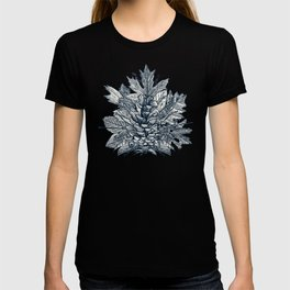 forest floor indigo ivory T-shirt