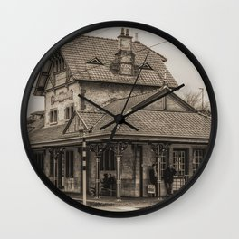 Waiting in Style Wall Clock