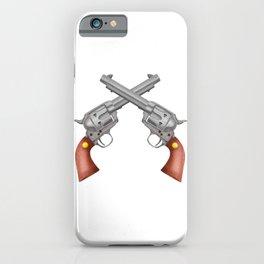 Pistols iPhone Case