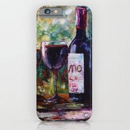 Aged Wine iPhone Case