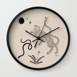 Desert Prey Wall Clock