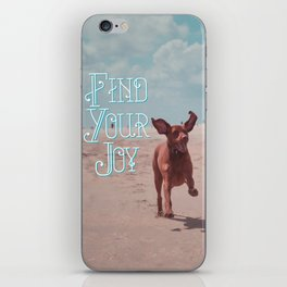 Vizsla Joy iPhone Skin