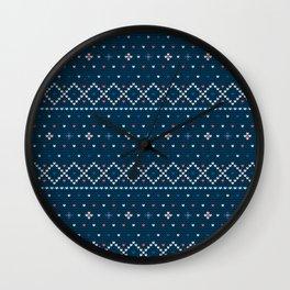 Pattern in Grandma Style #55 Wall Clock