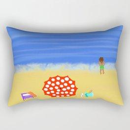 Bliss on the Beach! Rectangular Pillow