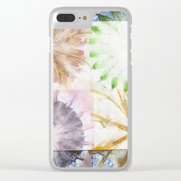 Controlling Hallucination Flower  ID:16165-151730-87231 Clear iPhone Case
