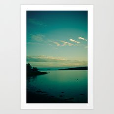 Sea and Sky Art Print
