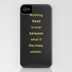 LINES iPhone (4, 4s) Slim Case