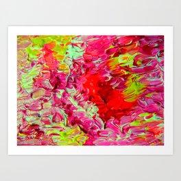 Neon Cantina Art Print