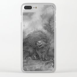 The Demon Cat Clear iPhone Case