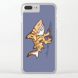 Darwin the Shark Clear iPhone Case