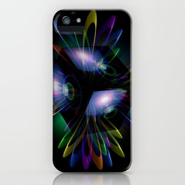 Abstract perfection - Light is energy iPhone Case