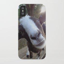 Goat Barnyard Farm Animal iPhone Case