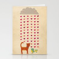 valentines Stationery Cards featuring Valentines by Joanne Hawker