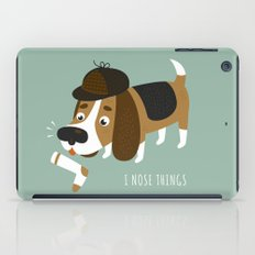 I Nose Things iPad Case