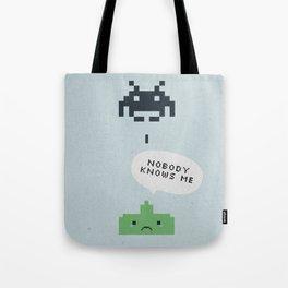 nobody knows Tote Bag