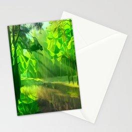 Abstract Forest 2 Stationery Cards